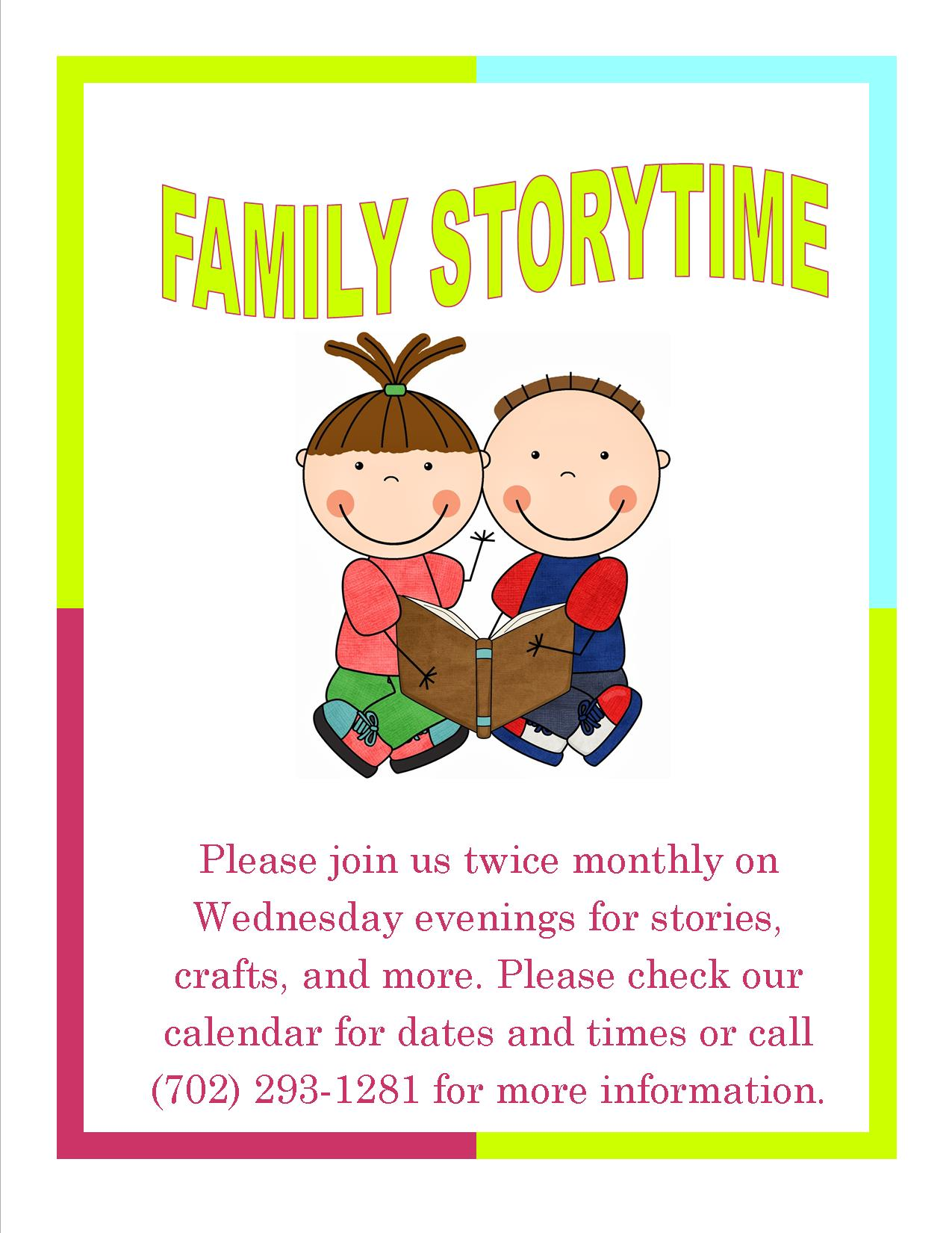 family storytime generic